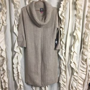 NWT Vince Camuto cowl neck sweater dress
